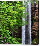 Toccoa Falls In Georgia Acrylic Print