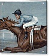 Tod Sloan (1874-1933) Acrylic Print