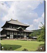 Todaiji Temple Acrylic Print