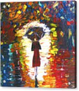 Today I Walk Alone Acrylic Print