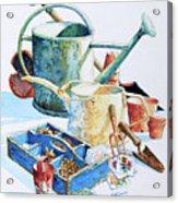 Todays Toil Tomorrows Pleasure IIi Acrylic Print