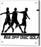 Todg Black Logo Acrylic Print