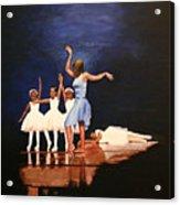 Toe Dancer Acrylic Print