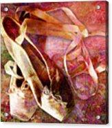 Toe Shoes Acrylic Print