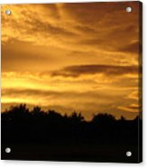 Toffee Sunset Acrylic Print