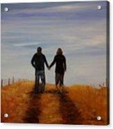Together Acrylic Print