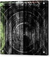 Token Grain Dark Acrylic Print