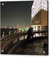 Tokyo Bay Nightview From Harumi Port Acrylic Print