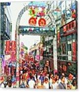 Harajuku Acrylic Print