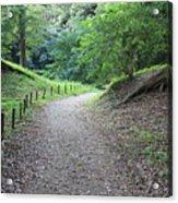 Tokyo Park Path Acrylic Print