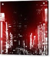 Tokyo Street Acrylic Print
