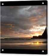 Tolaga Bay Pier II Acrylic Print