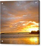 Tolaga Bay Pier IIi Acrylic Print