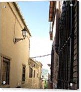 Toledo Alley View Acrylic Print