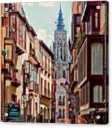 Toledo Cityscape Acrylic Print
