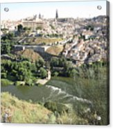 Toledo Morning Acrylic Print