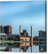 Toledo Skyline Acrylic Print