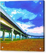 Toll Road Acrylic Print