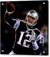 Tom Brady - New England Patriots Acrylic Print by Paul Ward