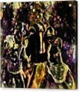 Tom Brady Under Pressure 03c Acrylic Print
