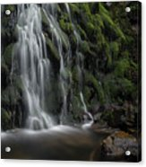 Tom Gill Waterfall, Cumbria, England Acrylic Print