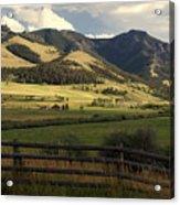 Tom Miner Vista Acrylic Print