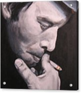 Tom Waits Two Acrylic Print