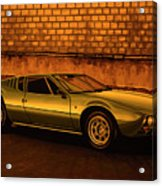 Tomaso Mangusta Mixed Media Acrylic Print