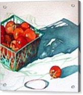 Tomato Basket Acrylic Print