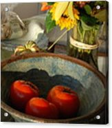 Tomato Still Life Acrylic Print