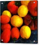 Tomatoes Matisse Acrylic Print