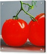 Tomatoes With Stems Acrylic Print