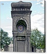 Tomb Of General P G T Beauregards Daughter Acrylic Print
