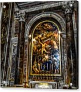 Tomb Of Pope John Paul II In St Peter's Basilica Acrylic Print