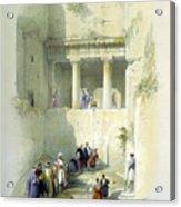 Tomb Of St. James Acrylic Print
