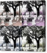 Tomb Stones Of Many Prayers Acrylic Print