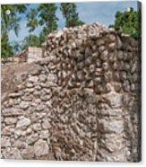 Tombs At Oxtankah Acrylic Print