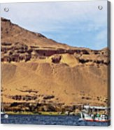 Tombs Of The Nobles Aswan Acrylic Print