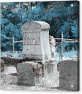 Tombstone Amiss Acrylic Print