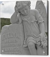 Tombstone Angel For An Angel Acrylic Print by Christine Till