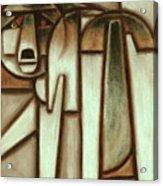 Tommervik Abstract Wolf Art Print Acrylic Print