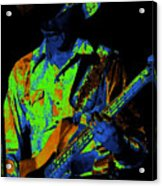 Tommy Caldwell Jamming Acrylic Print