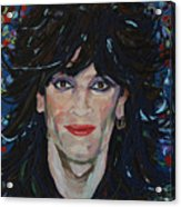 Tommy Lee 80s Hair Bands Motley Crue Acrylic Print