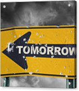 Tomorrow Acrylic Print