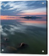 Tonal Sunset Acrylic Print
