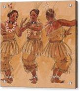 Tonga Dance From Niuafo'ou Acrylic Print