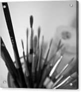 Tools Of The Trade Acrylic Print by Julia Bridget Hayes
