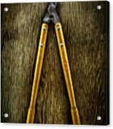 Tools On Wood 34 Acrylic Print