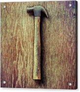 Tools On Wood 53 Acrylic Print