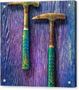 Tools On Wood 65 Acrylic Print